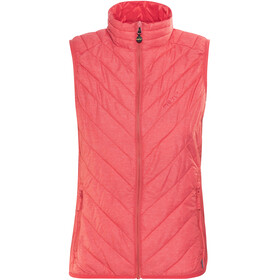 Meru White Rock Padded Vest Women teaberry melange